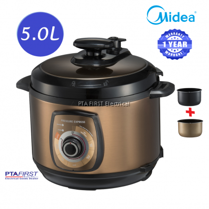 Midea MY-CH502A 5.0L Pressure Cooker with Dual Inner Pot