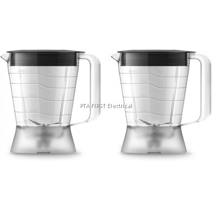 Philips Daily Collection Blender HR2059/90 with 2 Plastic Jar