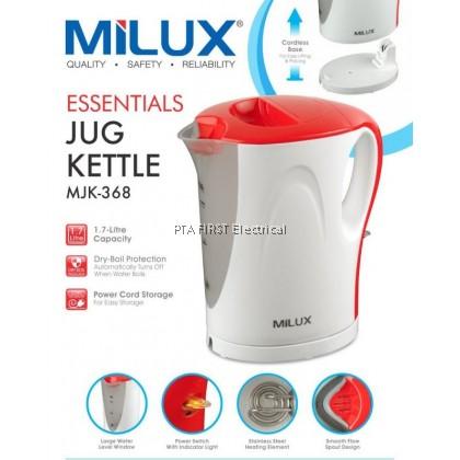 Milux 1.7L Jug Kettle MJK-368
