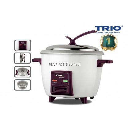 Trio 1.0L Rice Cooker With Steam Tray TRC-1003