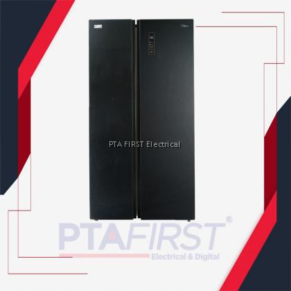 MIDEA Refrigerator MSS-582WEGBI side by side 580L