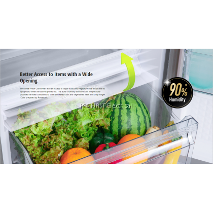 PANASONIC Refrigerator NR-BL302PSMY 288L