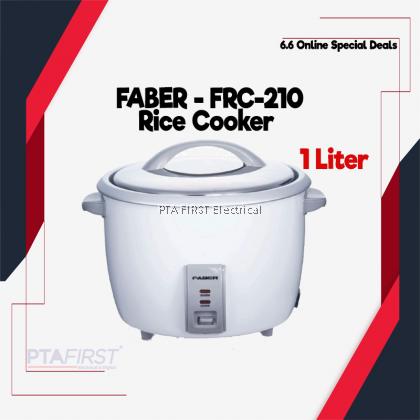FABER RICE COOKER FRC-210 1L