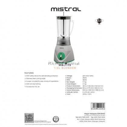 MISTRAL BLENDER MBL-1115 1L