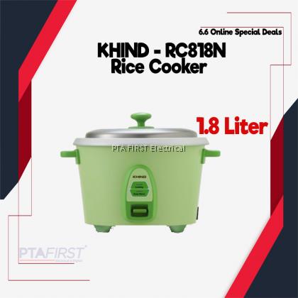 KHIND Rice Cooker RC818N 1.8L